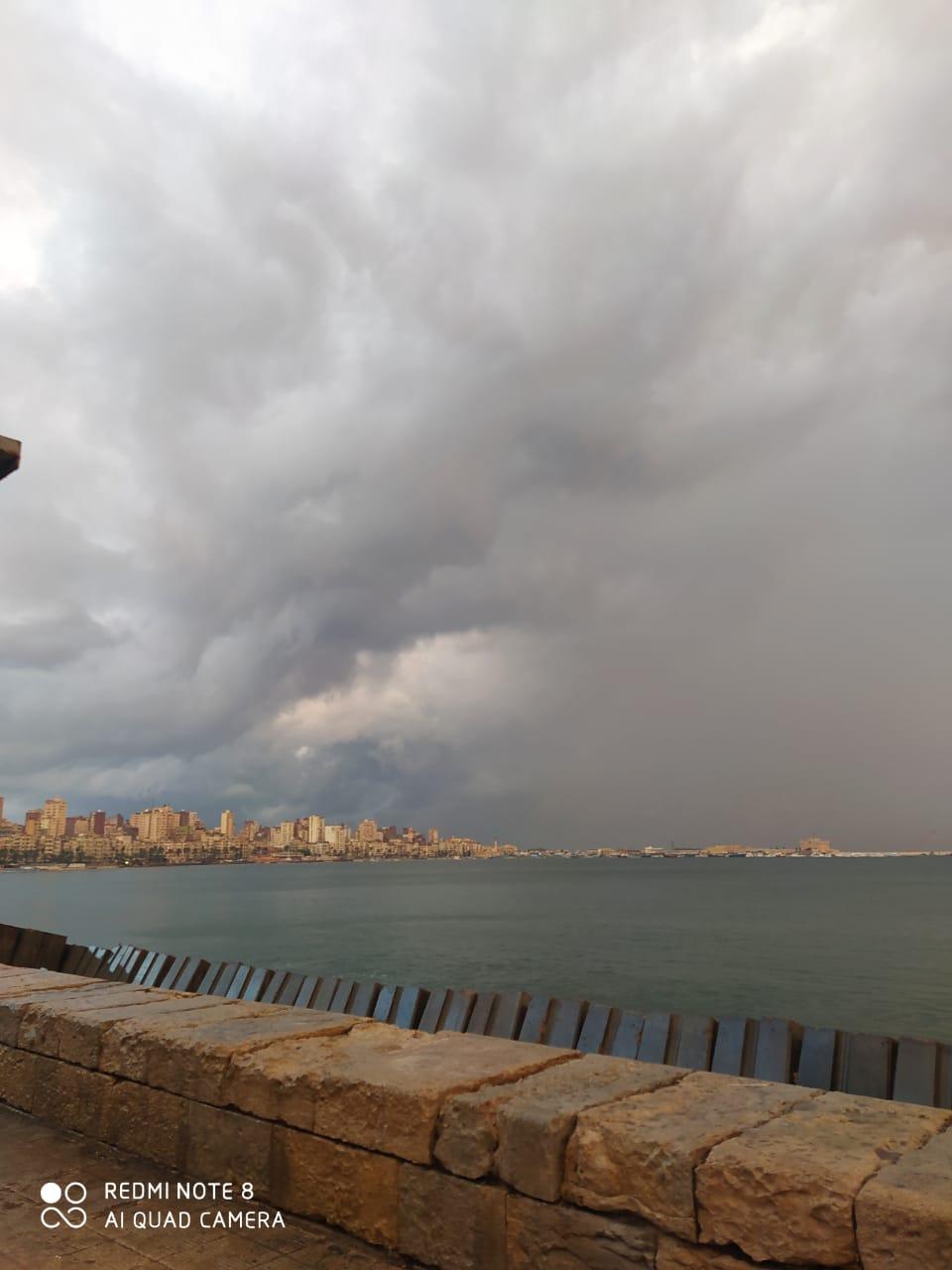 ملخص منخفض 20 نوفمبر 2020 على مدينة الاسكندرية