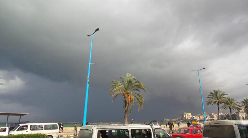 ملخص منخفض 14 يناير 2021 على مدينة الاسكندرية