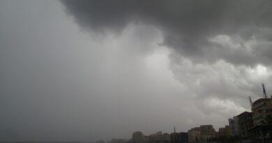 بيان هام منخفض جوى وعودة الامطار على الاسكندرية